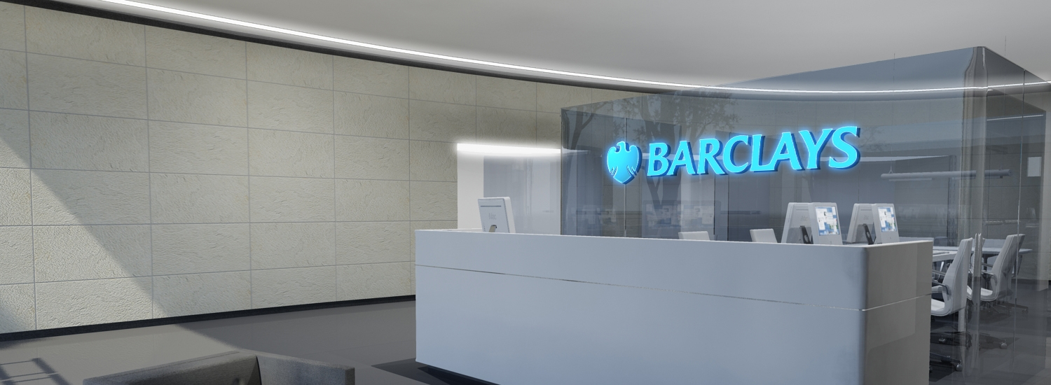 Barclays bankshop interior design