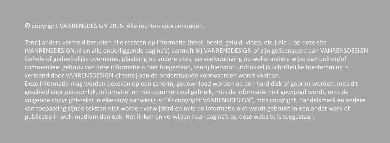 copyright frans van rens