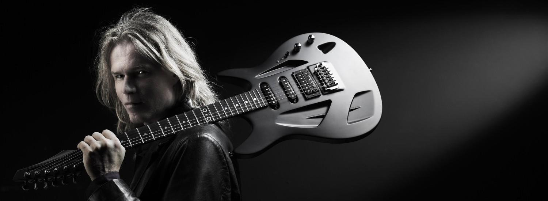 aristides 010 electrische gitaar adje vandenberg promotie foto