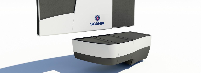 scania Single driver scania ontwerp bedden en cabine onderdelen voor vrachtwagen