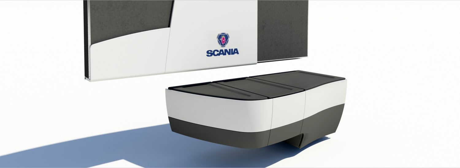 Scania single driver ontwerp beds and cabine components Scania truck