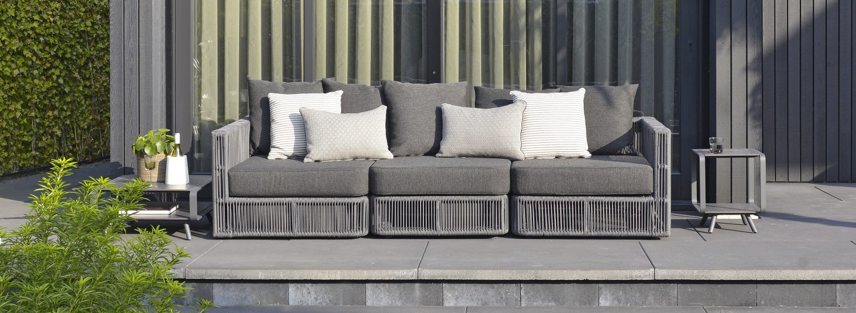 DOUBLE O lounge en bijzet tafels design frans van rens